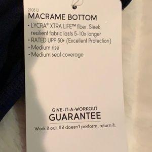 Athleta Swim - Athleta Macrame Bottom